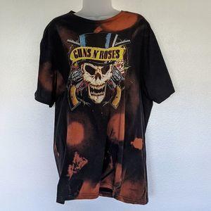 Guns N Roses DIY Bleach Band Tee
